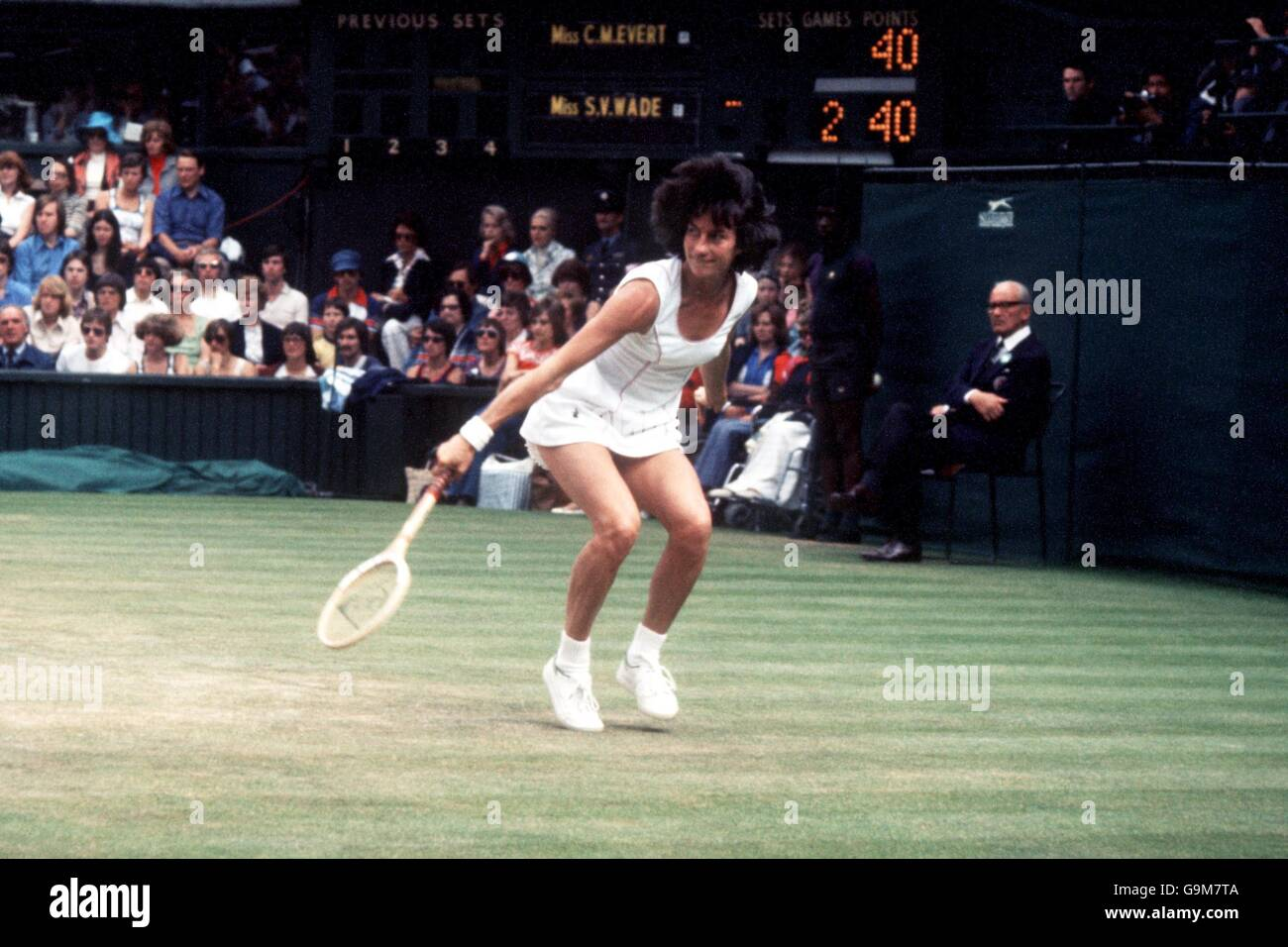 Tennis Wimbledon 1977 La s Singles Semi Final Virginia