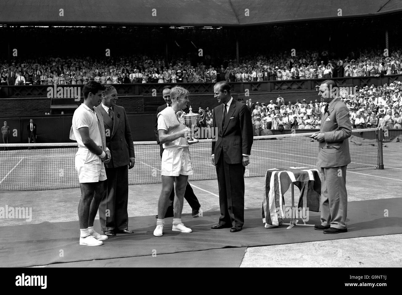 Tennis Wimbledon Championships Men s Singles Final Lew Hoad