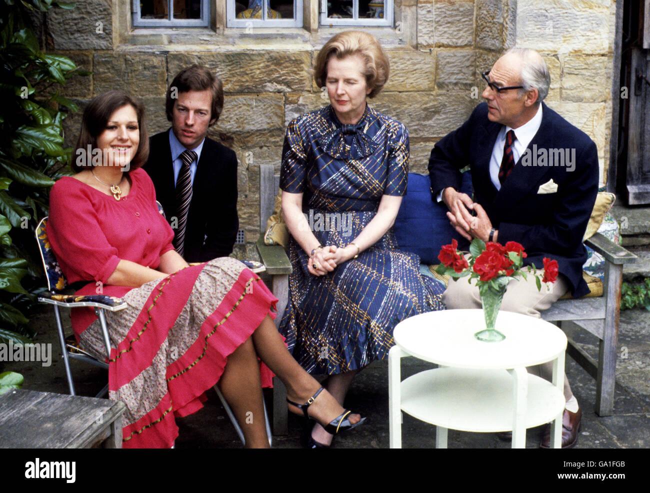 Margaret Thatcher Grandchildren