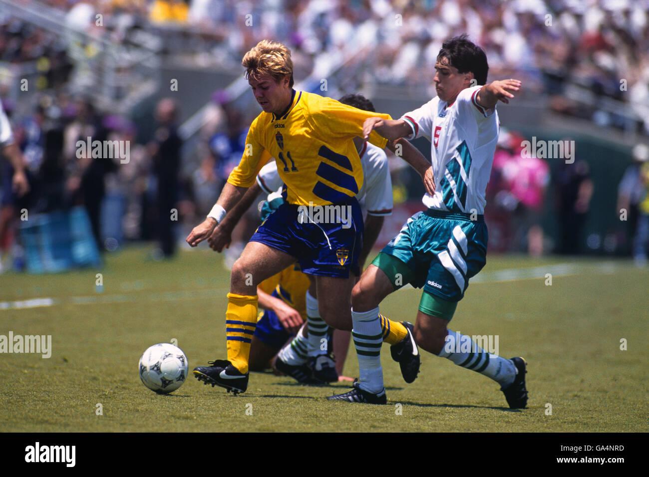 Soccer World Cup Usa 1994 Third Place Match Sweden V Bulgaria Rose Bowl