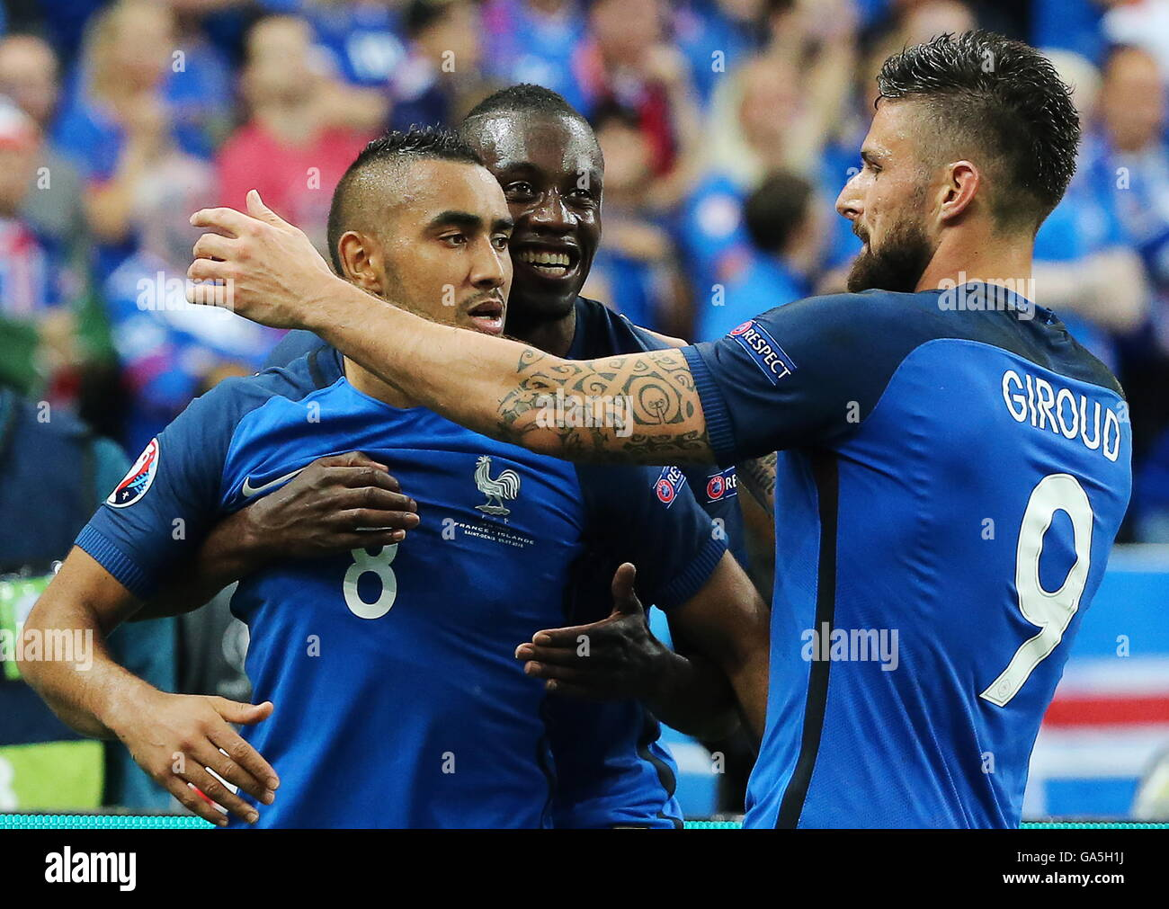 Saint Denis France 3rd July 2016 France s Dimitri Payet