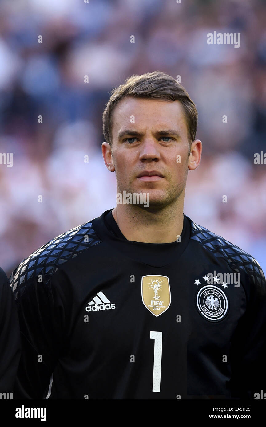 Manuel Neuer Germany July 02 2016 Football Uefa Euro