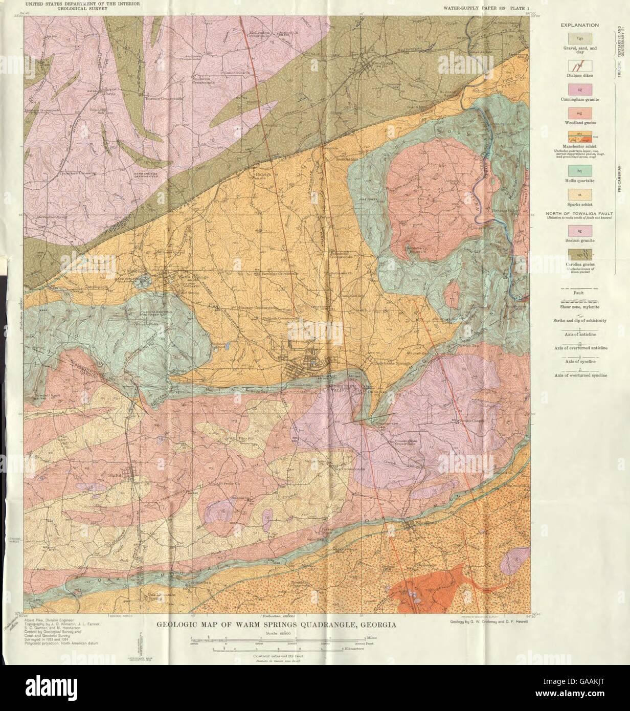 Interior Map Of Geor Map Of Geo Map Of Ge Map Of Ohio Map Of - Georgia usa map