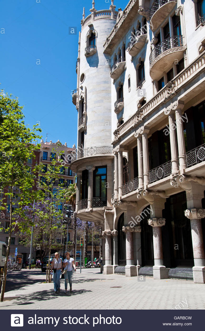 Rooms: Hotel Casa Fuster, Luxury Hotel, Barcelona Gracia District, Spain Stock Photo, Royalty Free