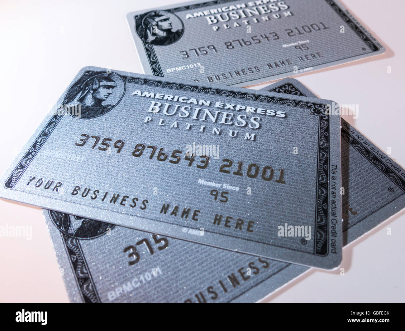American Express Business Credit Cards Stock Photo, Royalty Free ...
