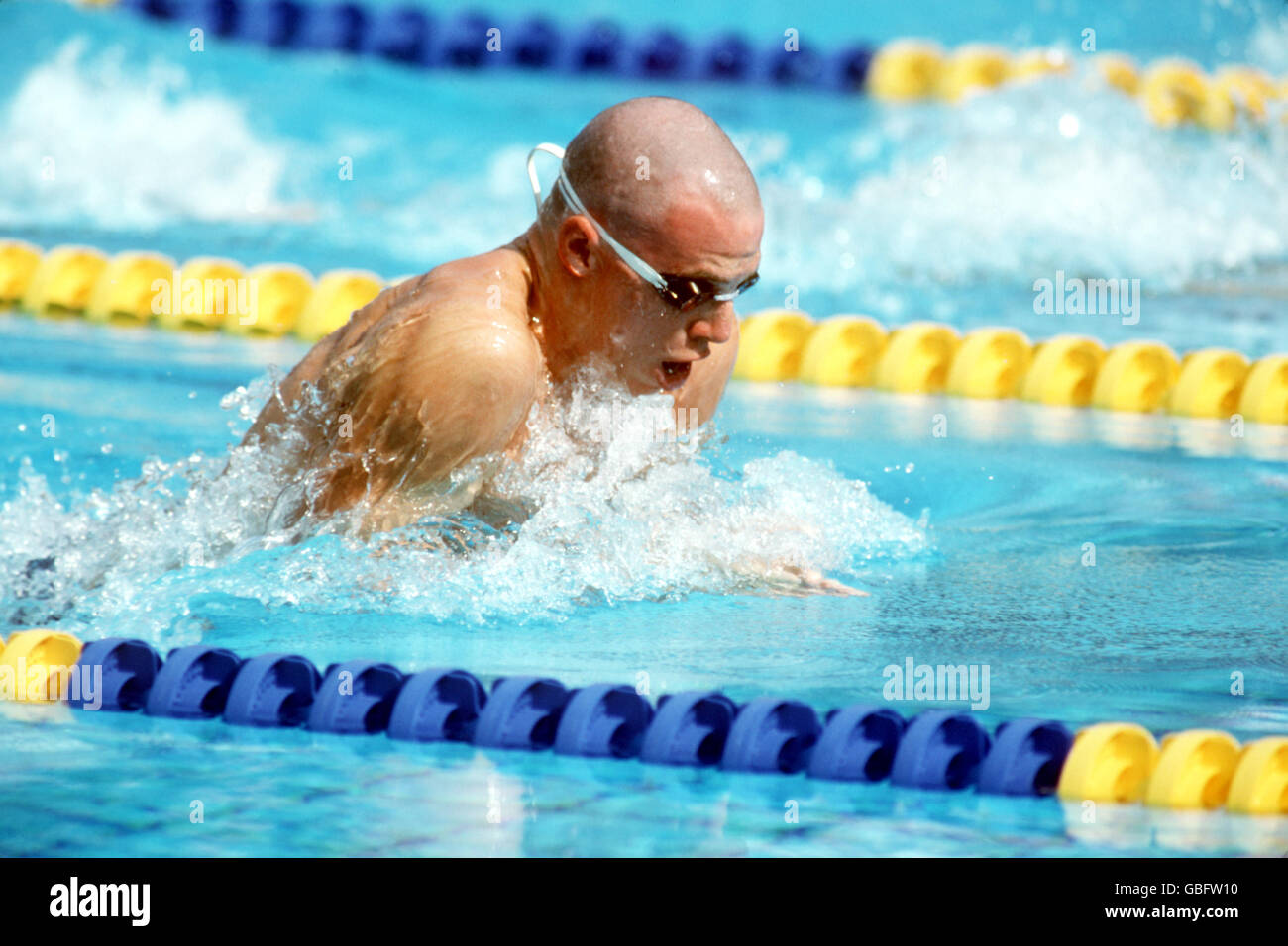 swimming barcelona olympic games 1992 mens 100m breaststroke