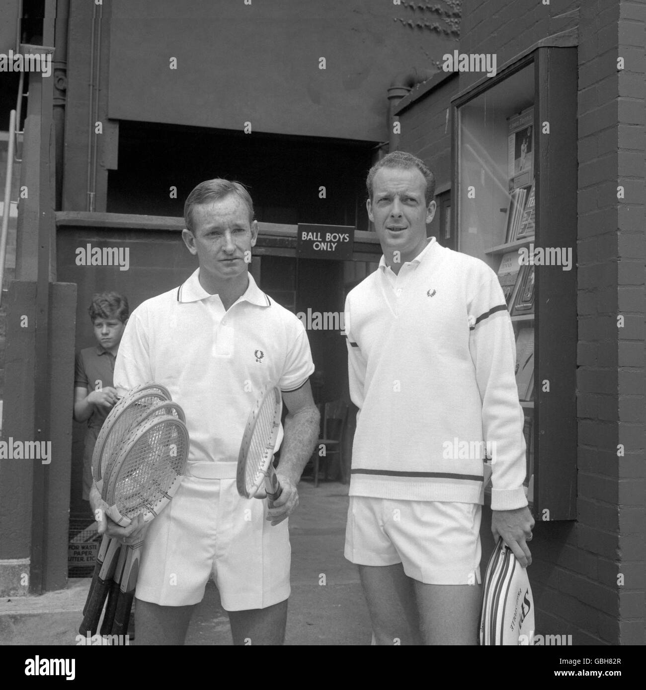 Tennis World Professional Tennis Tournament Rod Laver v Fred