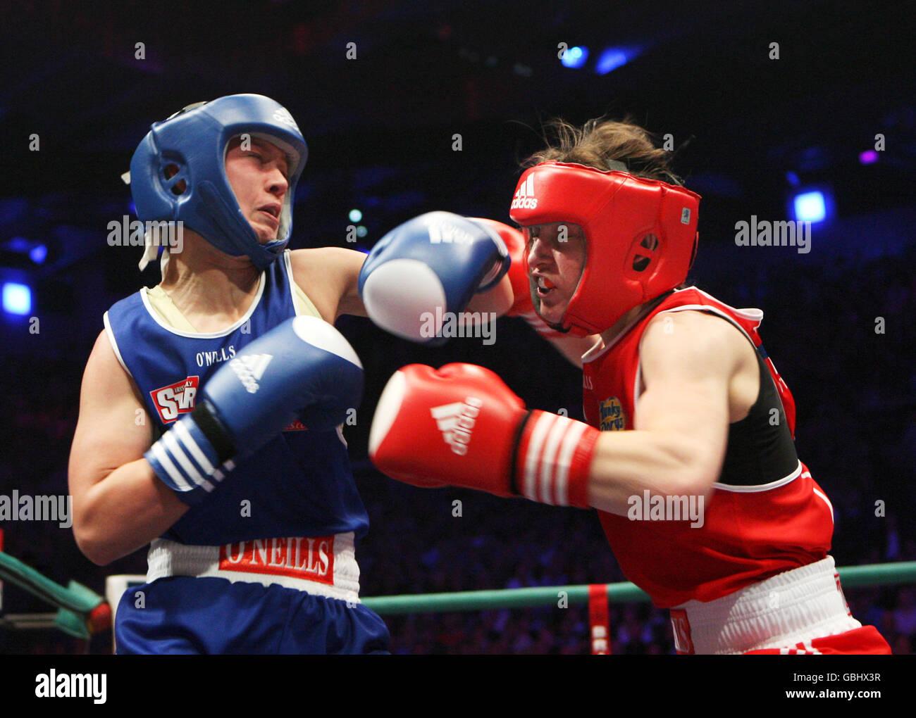Lightweight amateur boxers