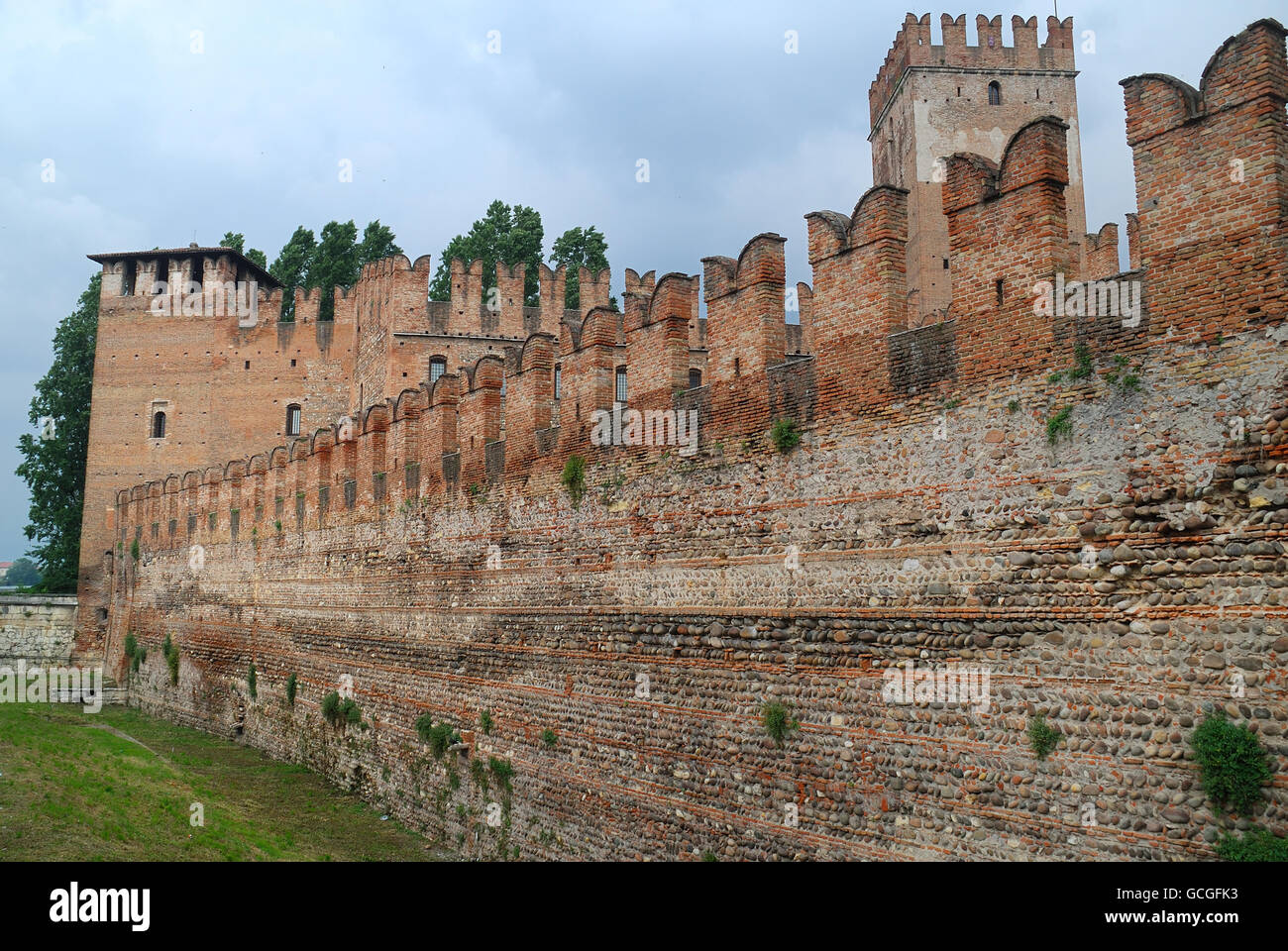 verona, italy. castelvecchio castle. it is the most important