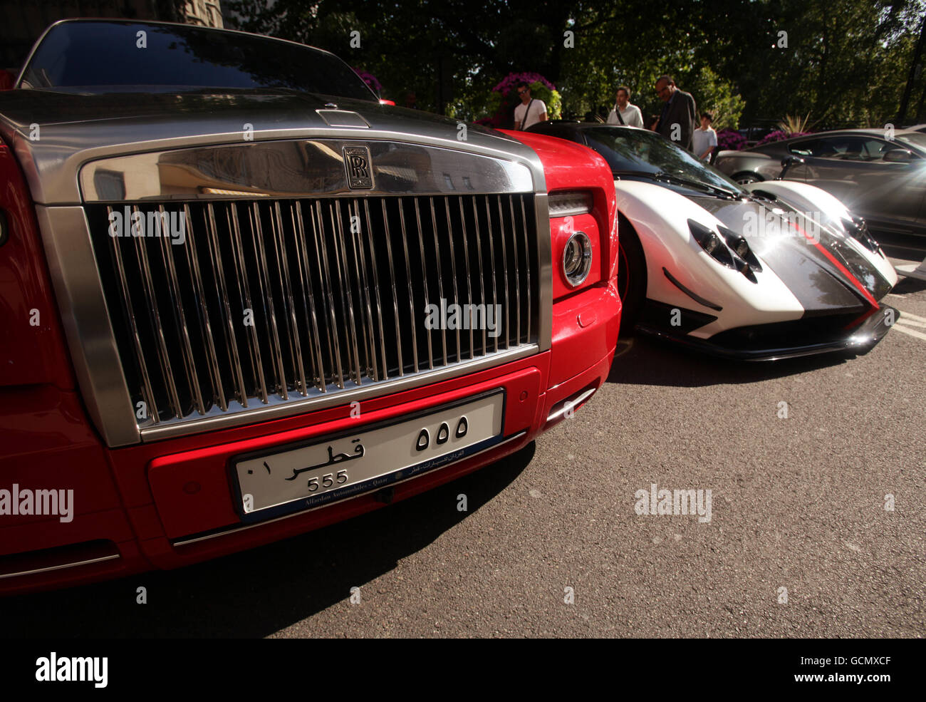 Supercars In London Stock Photo Royalty Free Image Alamy