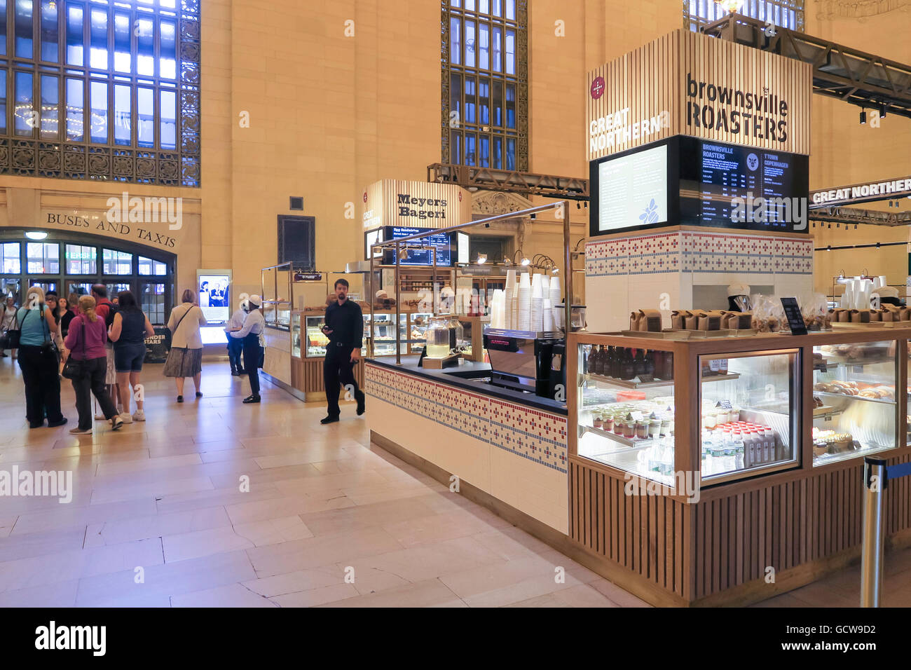 Great Northern Food Hall Great Northern Food Hall In Grand Central Terminal Nyc Usa Stock