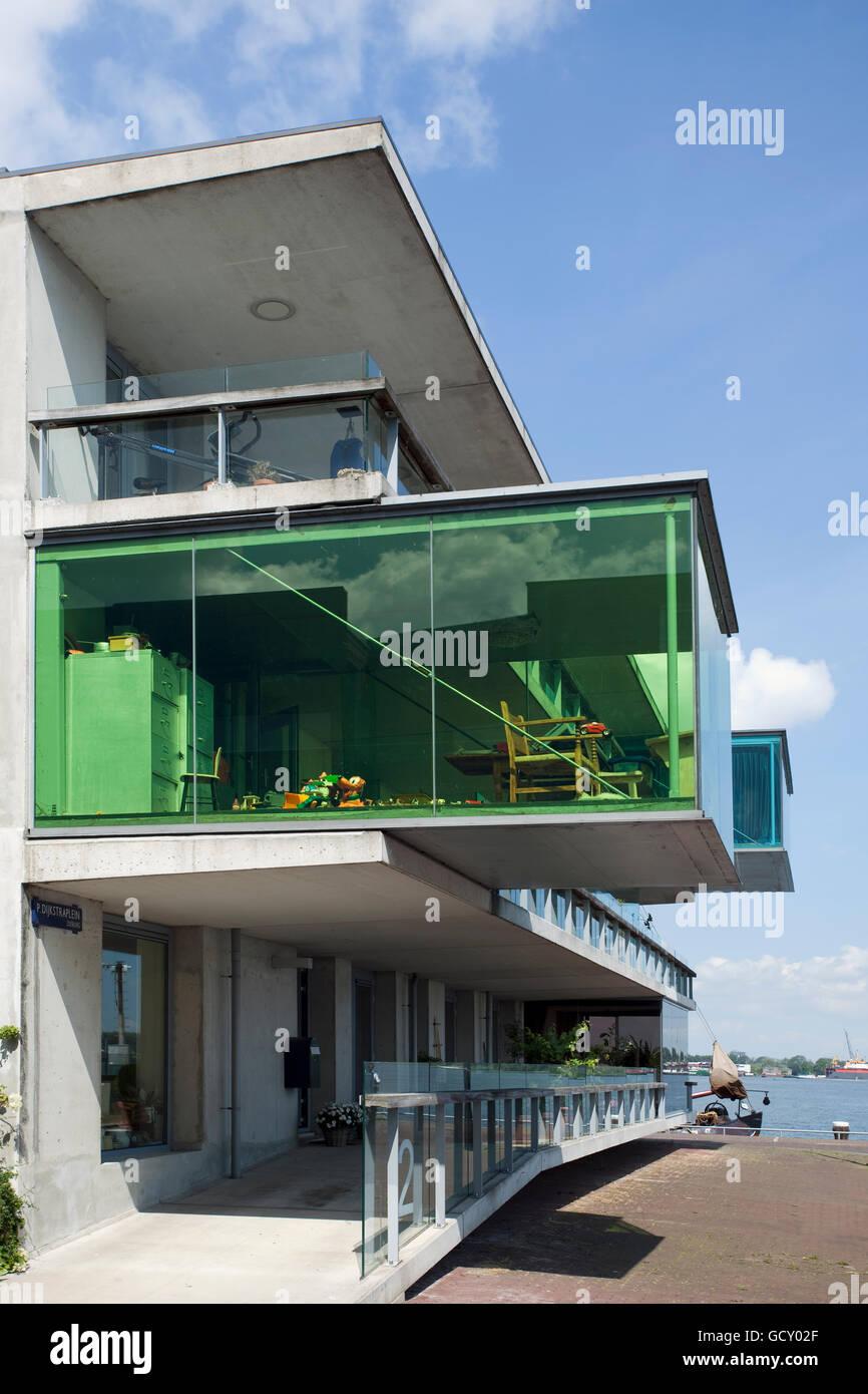 Modern Architecture Europe modern architecture, housebuilding on borneo island, amsterdam