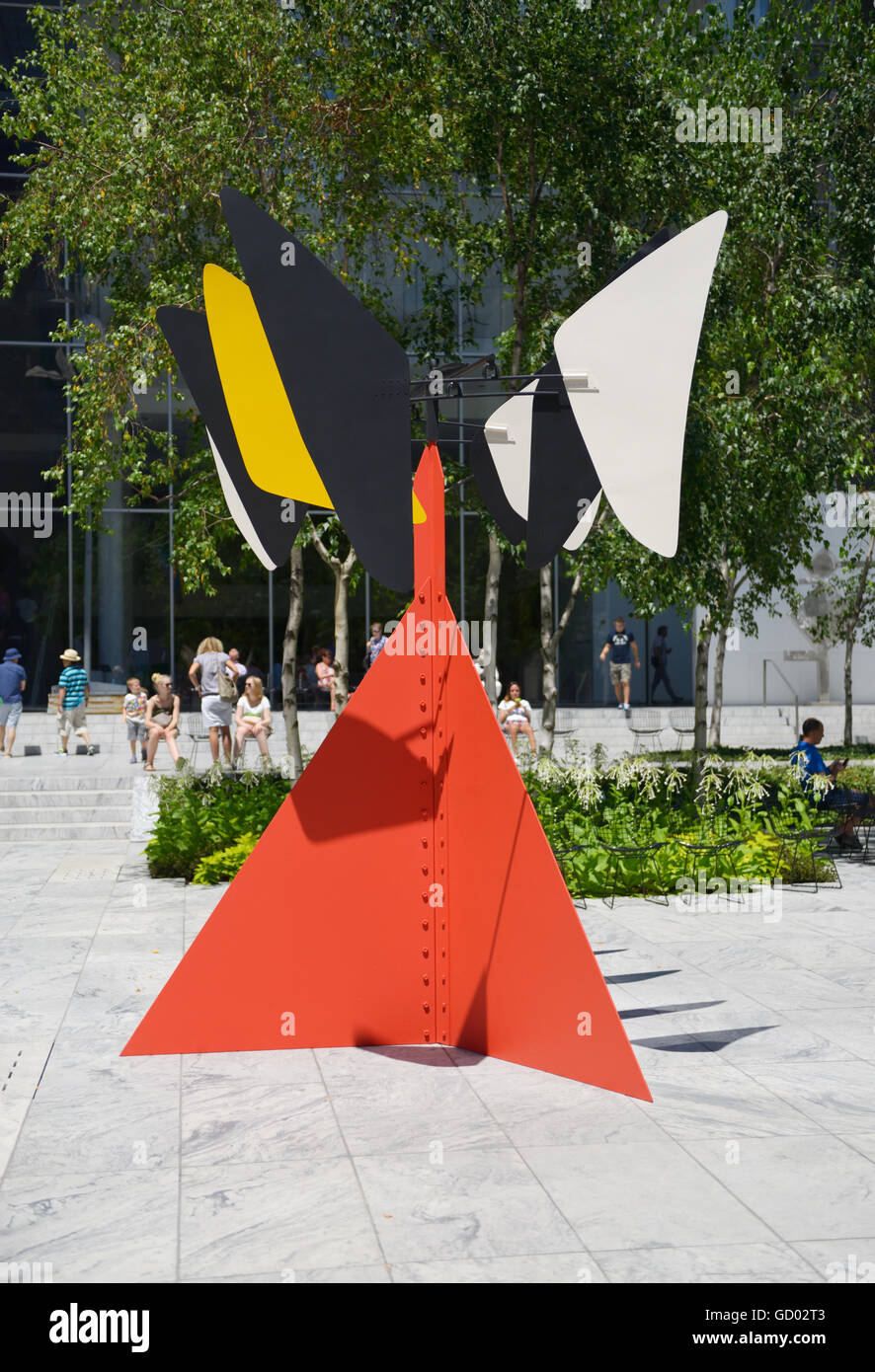 Sandyu0027s Butterfly, 1964, By Alexander Calder, Sculpture Garden At MOMA, NYC