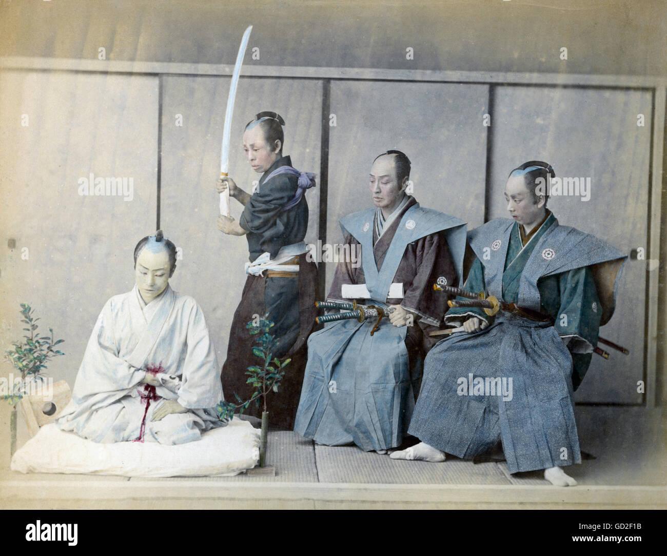 Justice Penitentiary System Seppuku Judicial Hara Kiri