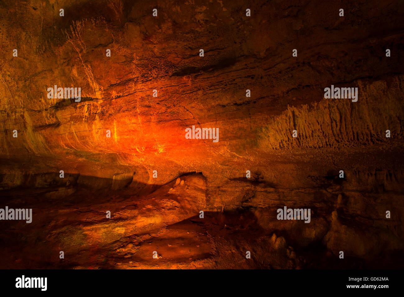 limestone cave stalactite stalagmite Prometheus georgia multicolor ...