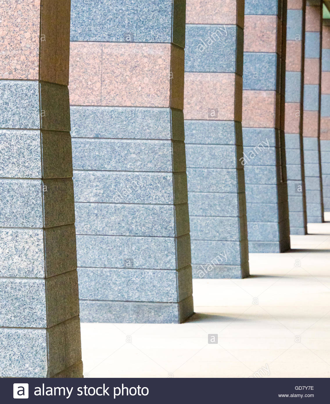 Modern Architecture Pattern modern architecture in rogers college: beautiful pillar detail