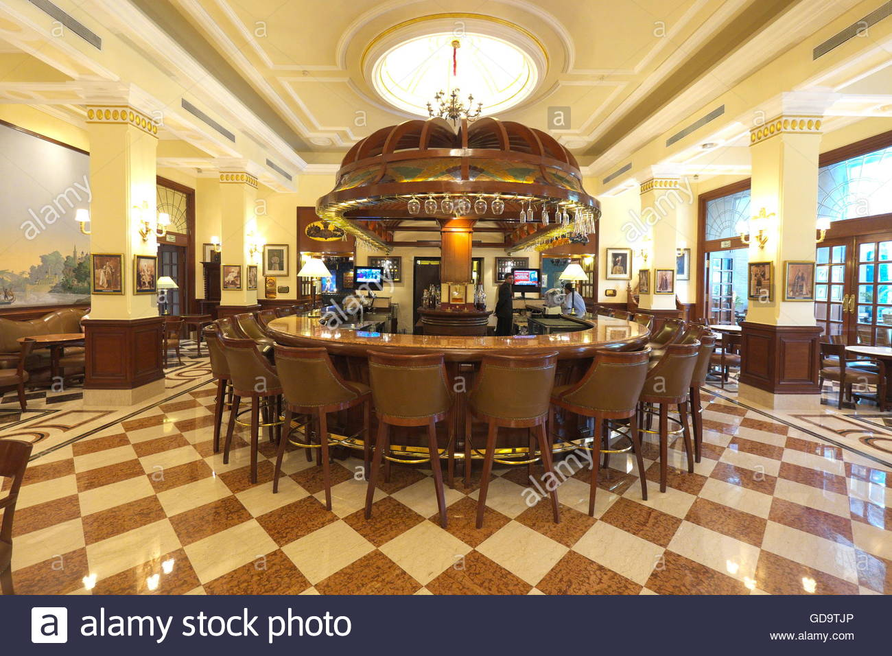 India New Delhi The Bar Of Imperial Hotel
