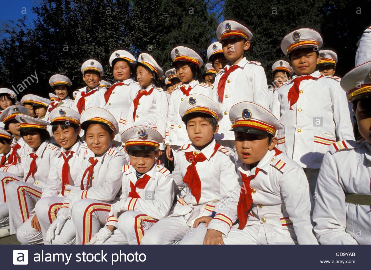 China Beijing School Boys Stock Photo Royalty Free Image  # Bois En Chaene