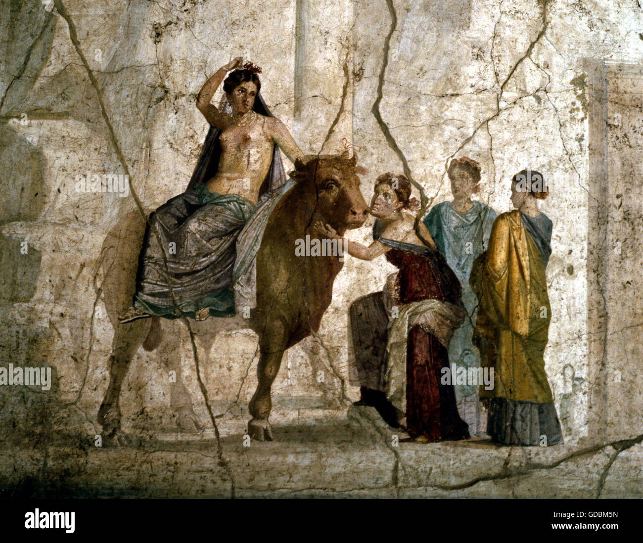 Europe abducted by zeus 1st century ad stock photo royalty free europe abducted by zeus 1st century ad publicscrutiny Image collections