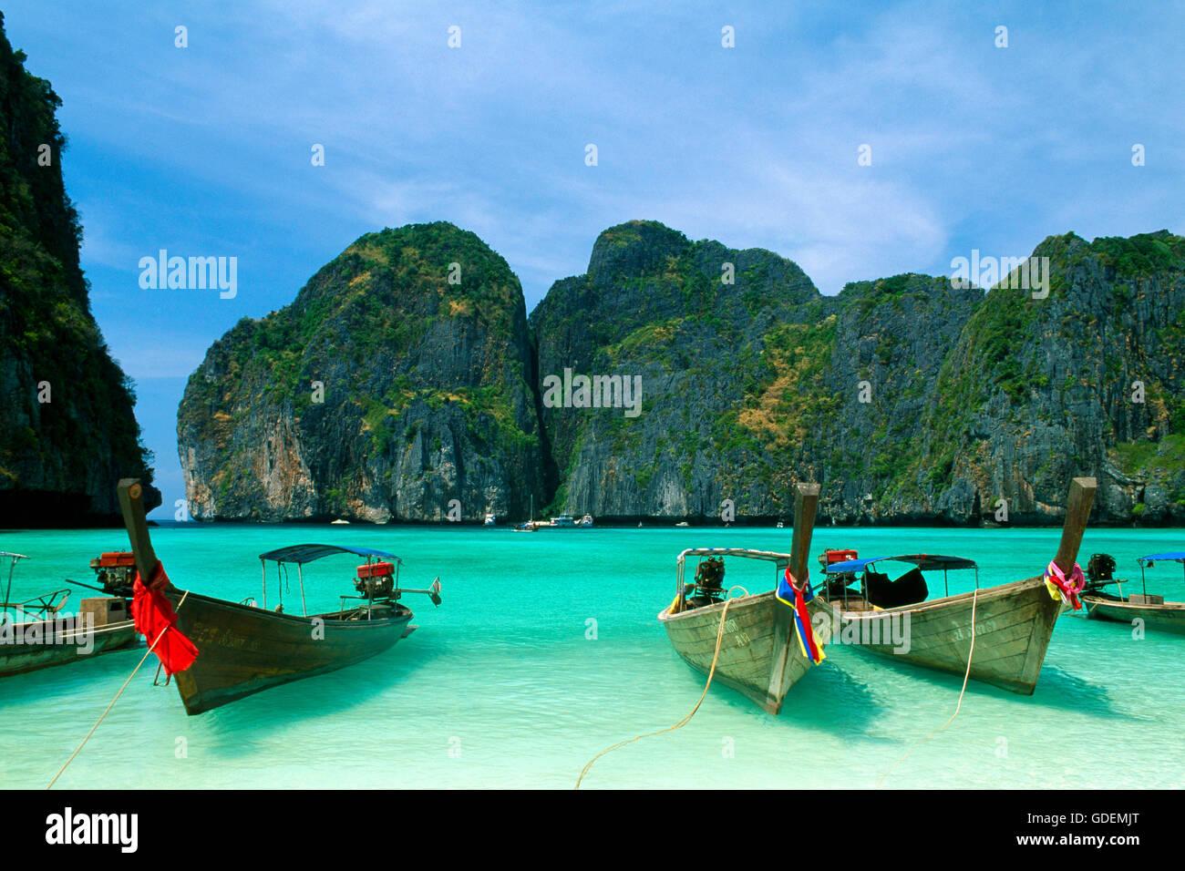 Long Beach Thailand Phi Phi