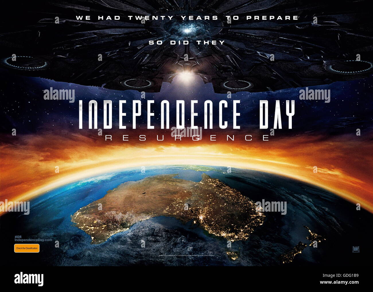 Independence day release date in Melbourne