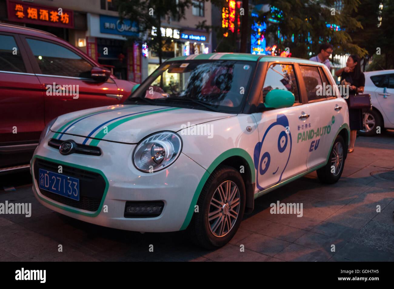 A Pand Auto Lifan 330 EV car sharing scheme electric vehicle ...