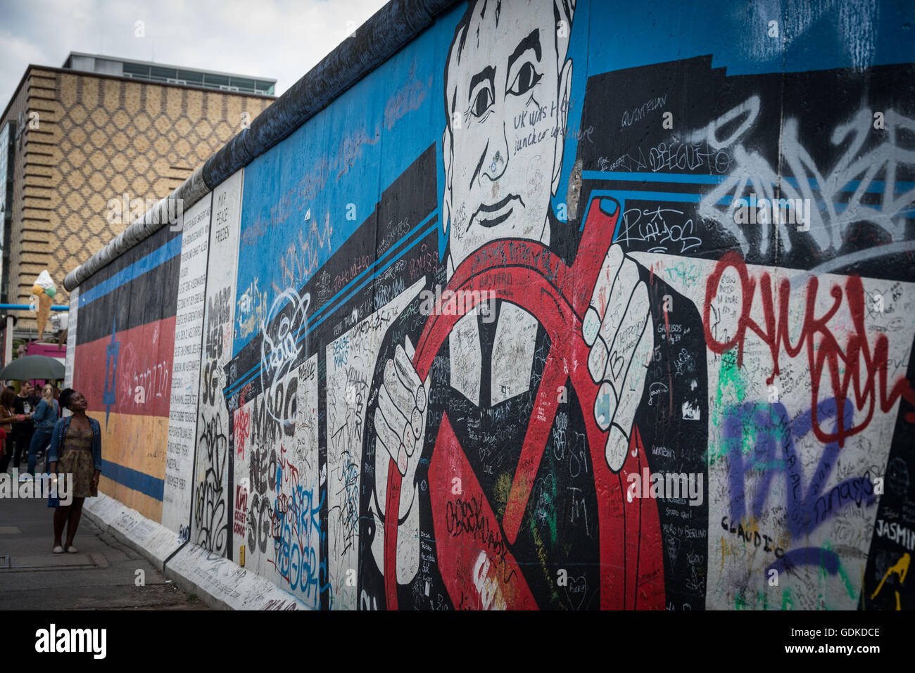 the berlin wall german berliner mauer official name stock photo royalty free image. Black Bedroom Furniture Sets. Home Design Ideas