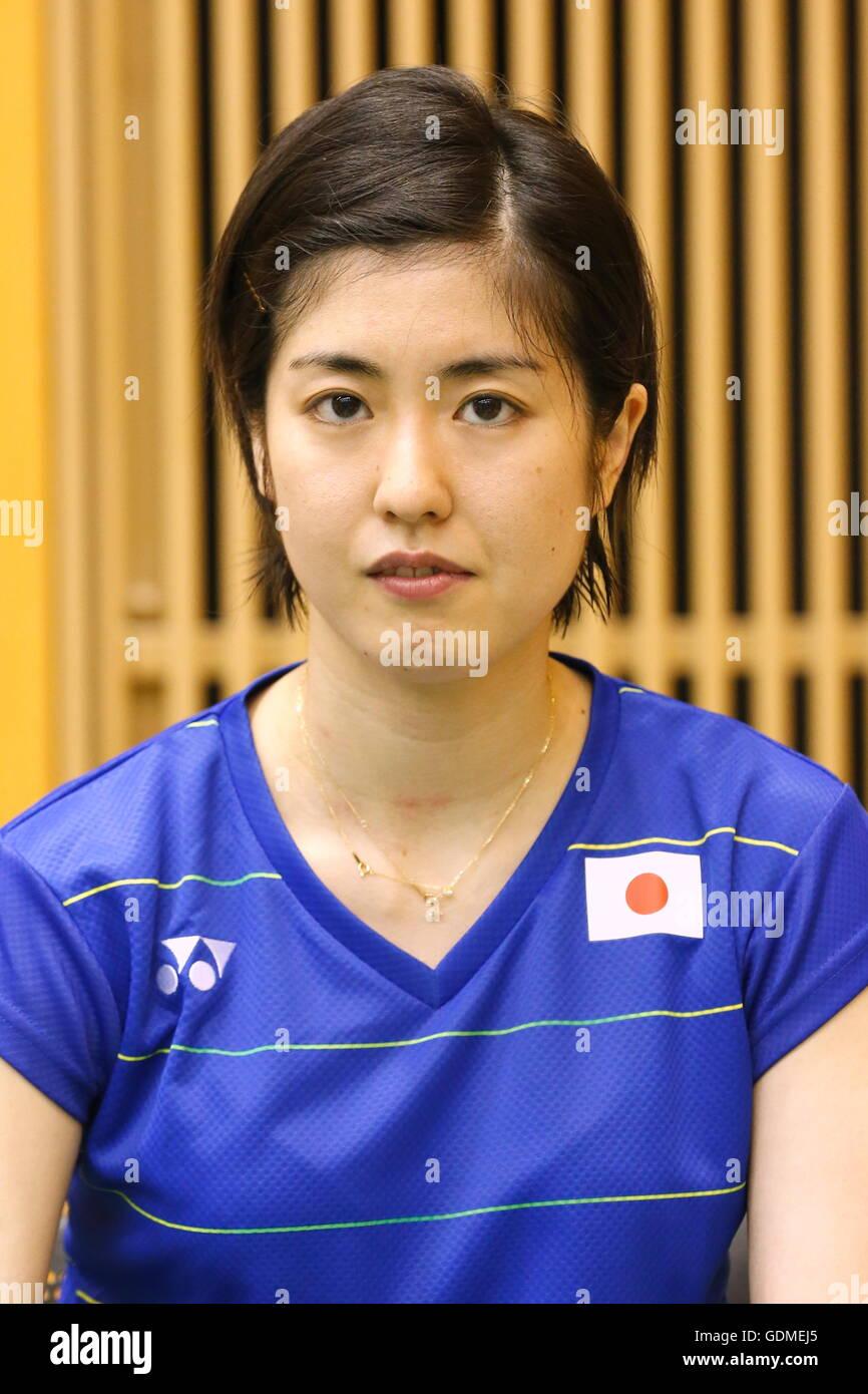 Tokyo Japan 19th July 2016 Ayane Kurihara JPN Badminton