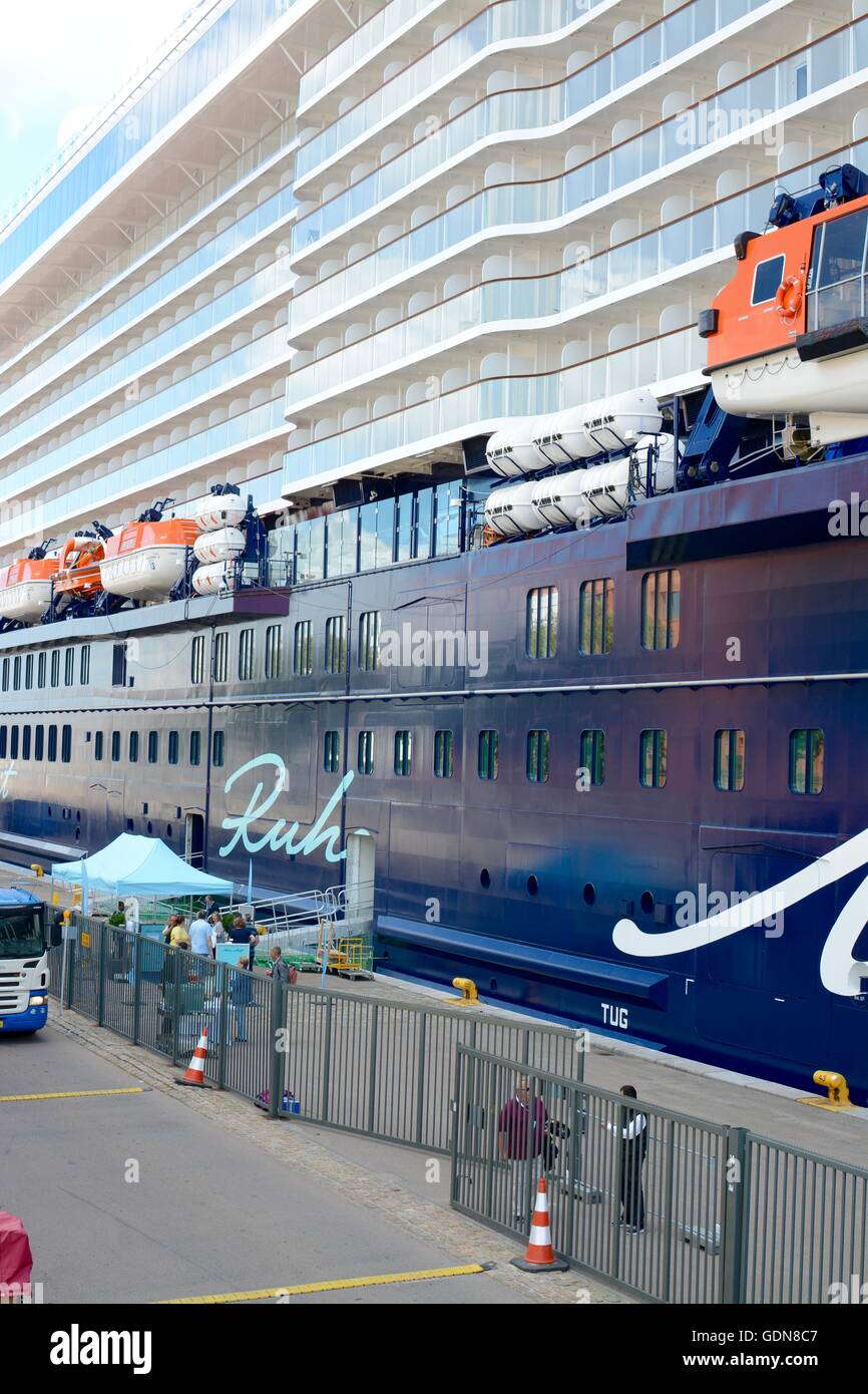 German Cruise Ship Mein Schiff In Port At Copenhagen Denmark - Cruise ship copenhagen