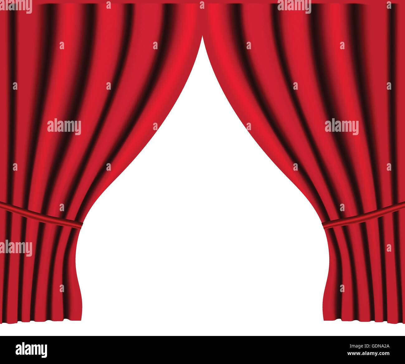 Stock Vector   Theater Stage With Red Curtain Vector Background For Poster