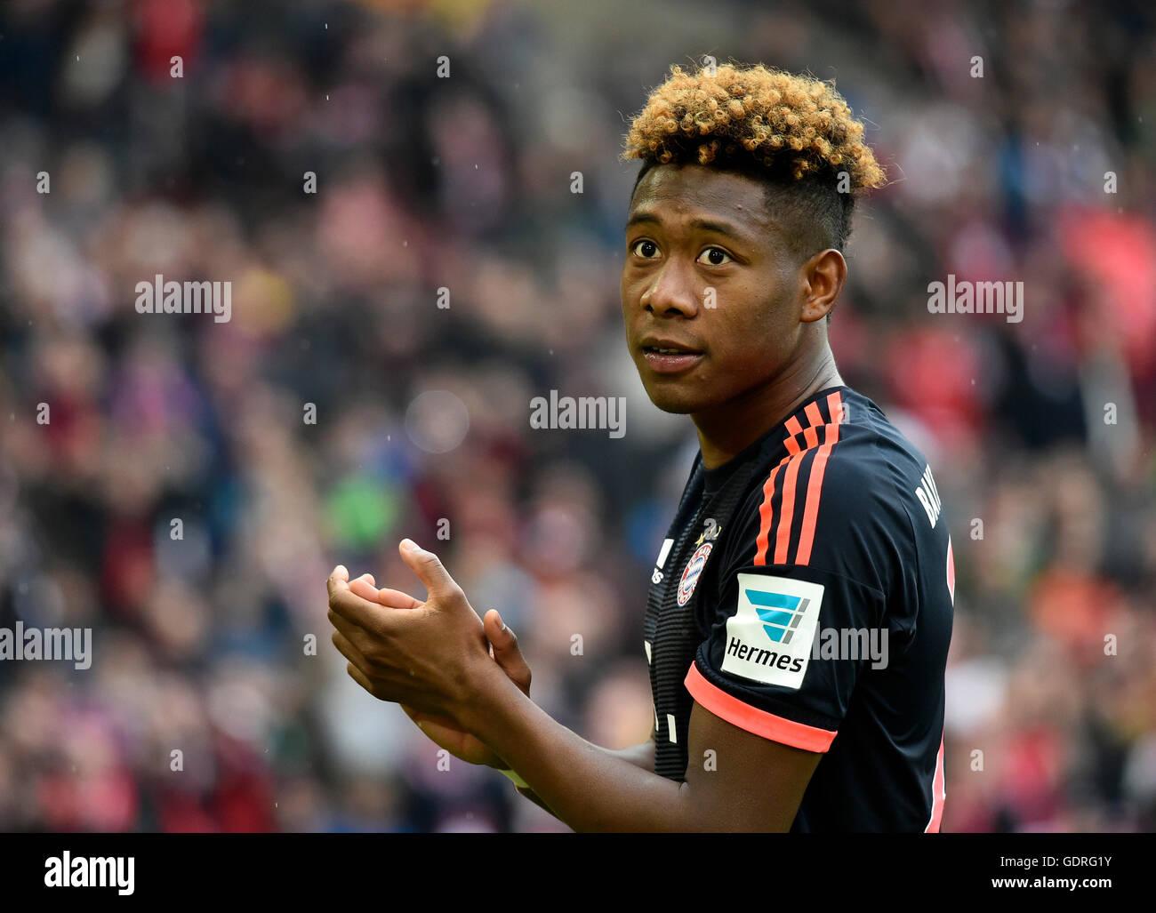 David Alaba Soccer Player at FC Bayern Munich Stuttgart Stock
