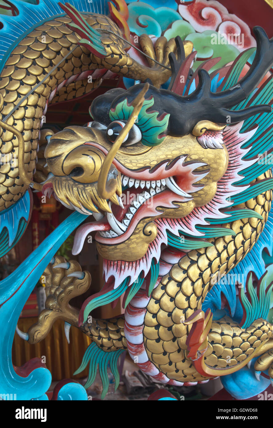 Symbolism of the Mystical Blue Dragon in Chinese Astrology