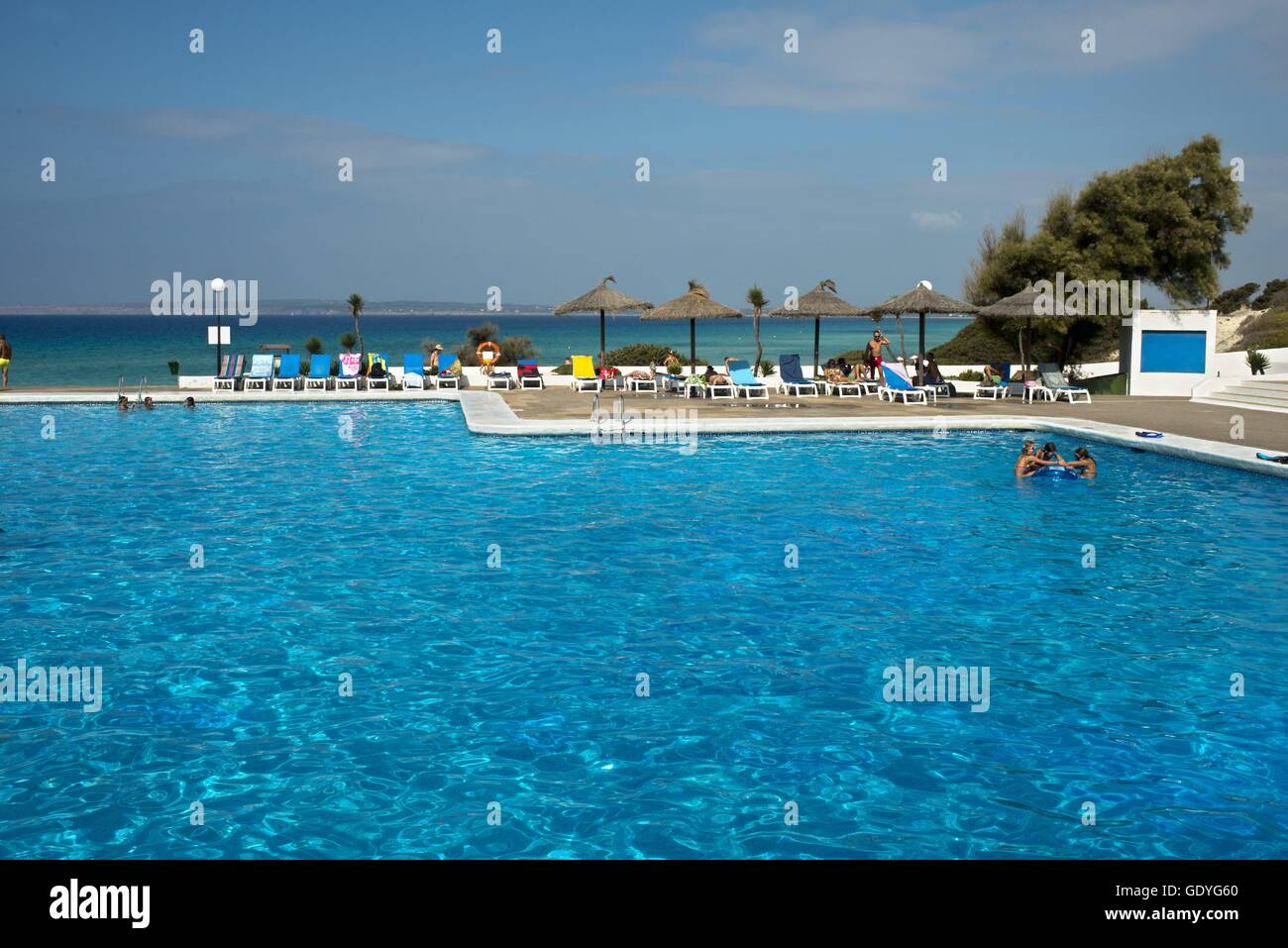 Swimming Pool Of Insotel Club Maryland Migjorn Beach