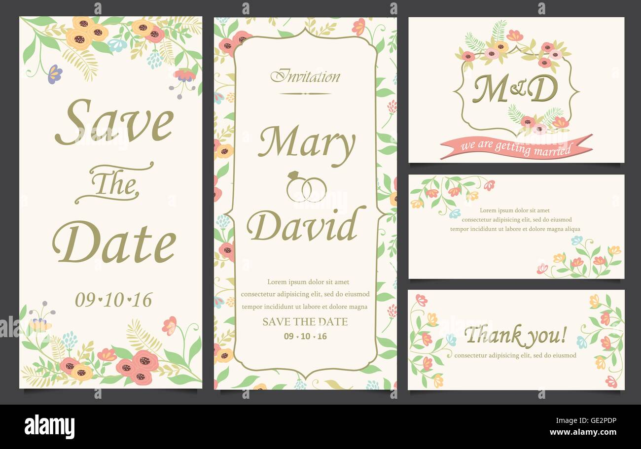 Wedding invitation rsvp and thank you card templateslight and wedding invitation rsvp and thank you card templateslight and tree concept can be use for party invitation banner web pag monicamarmolfo Images