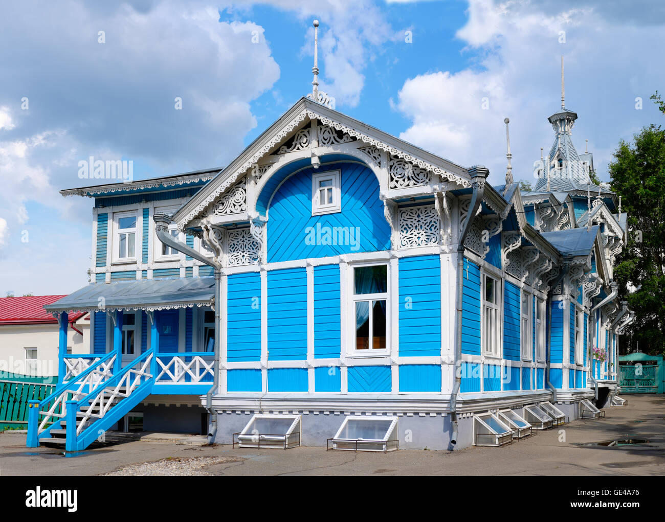 Wooden Architecture Of Russia Russian German Center In Tomsk City One The Most Favorite Buildings Siberia