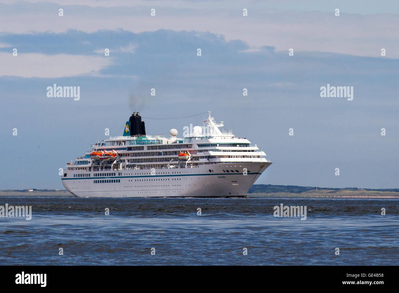 MS Amadea A Cruise Ship Owned By Amadea Shipping Company Arrives - Cruise ship amadea