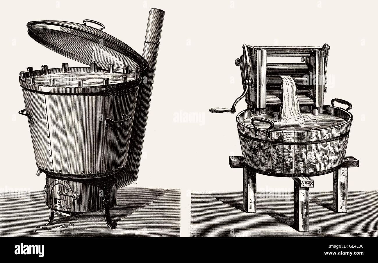 Old Fashioned Washing Wringer Machine