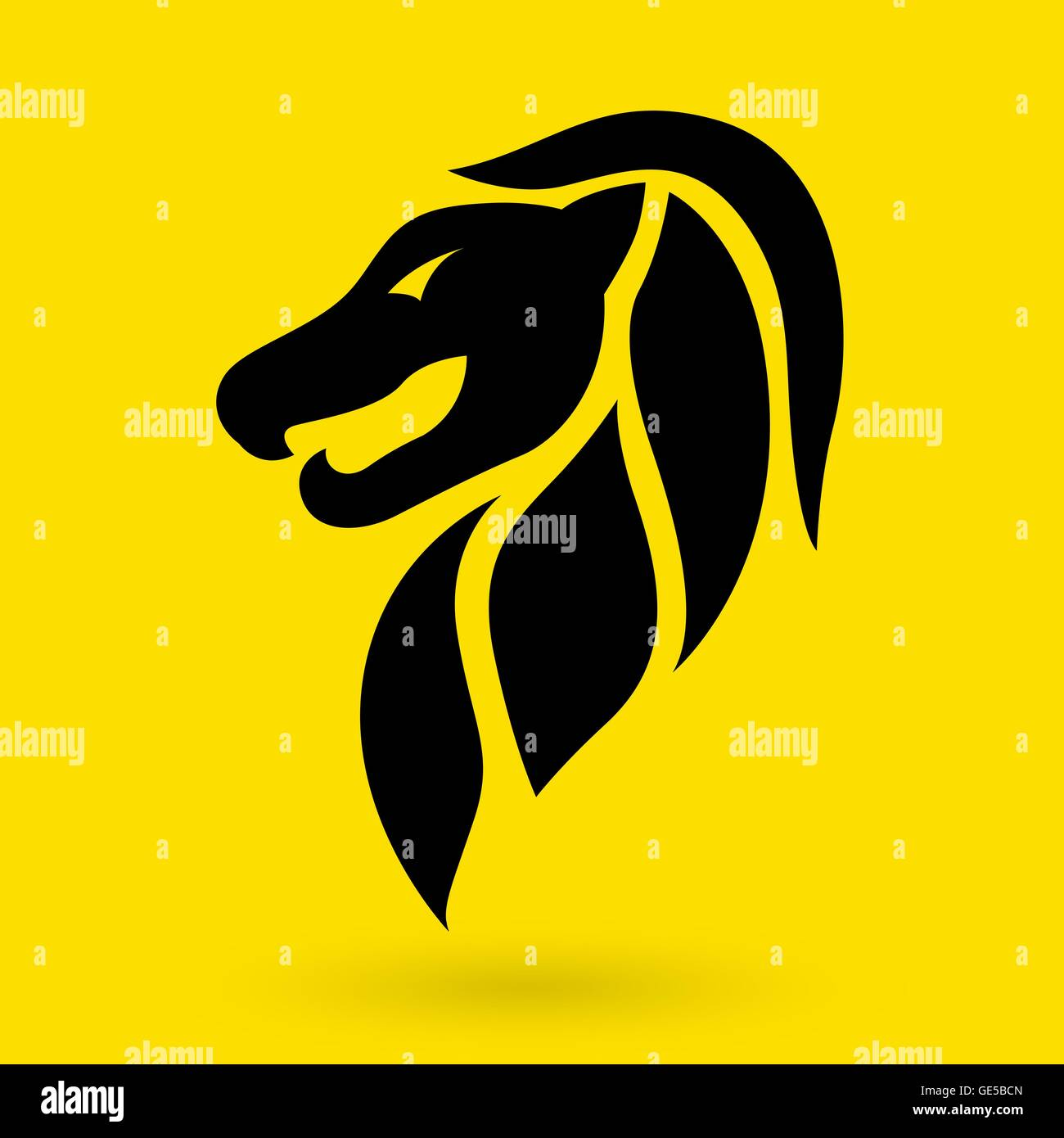 Lion logo vector design template lion icon stock vector art lion logo vector design template lion icon biocorpaavc Gallery