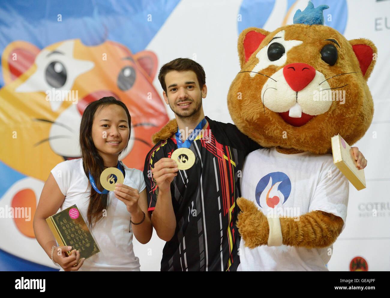 ZAGREB July 25 2016 Xinhua Anastasia Chervyakova