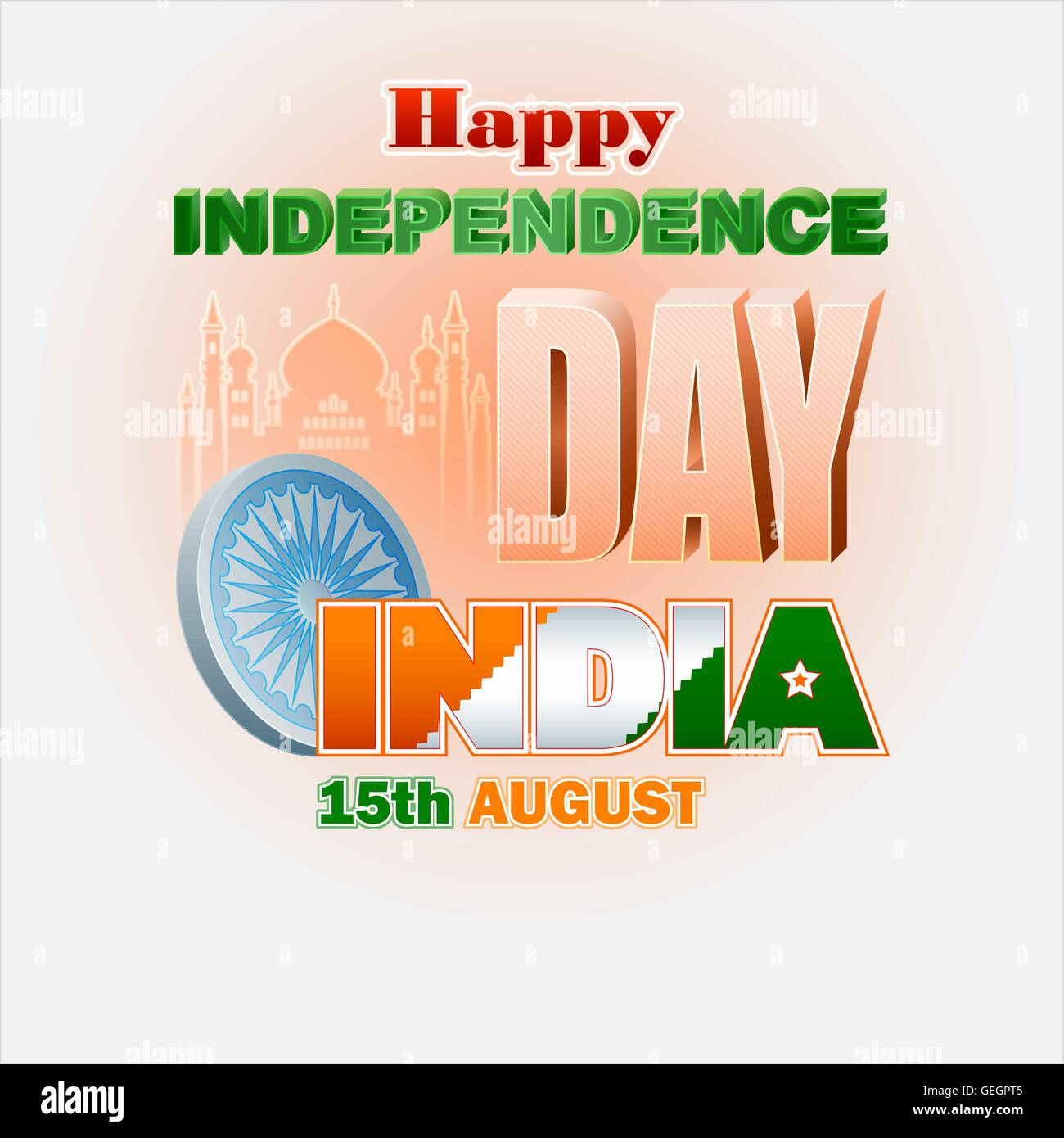 Holidays background with ashoka wheel symbol and text in indian holidays background with ashoka wheel symbol and text in indian national colors for 15th august independence day of india biocorpaavc Gallery