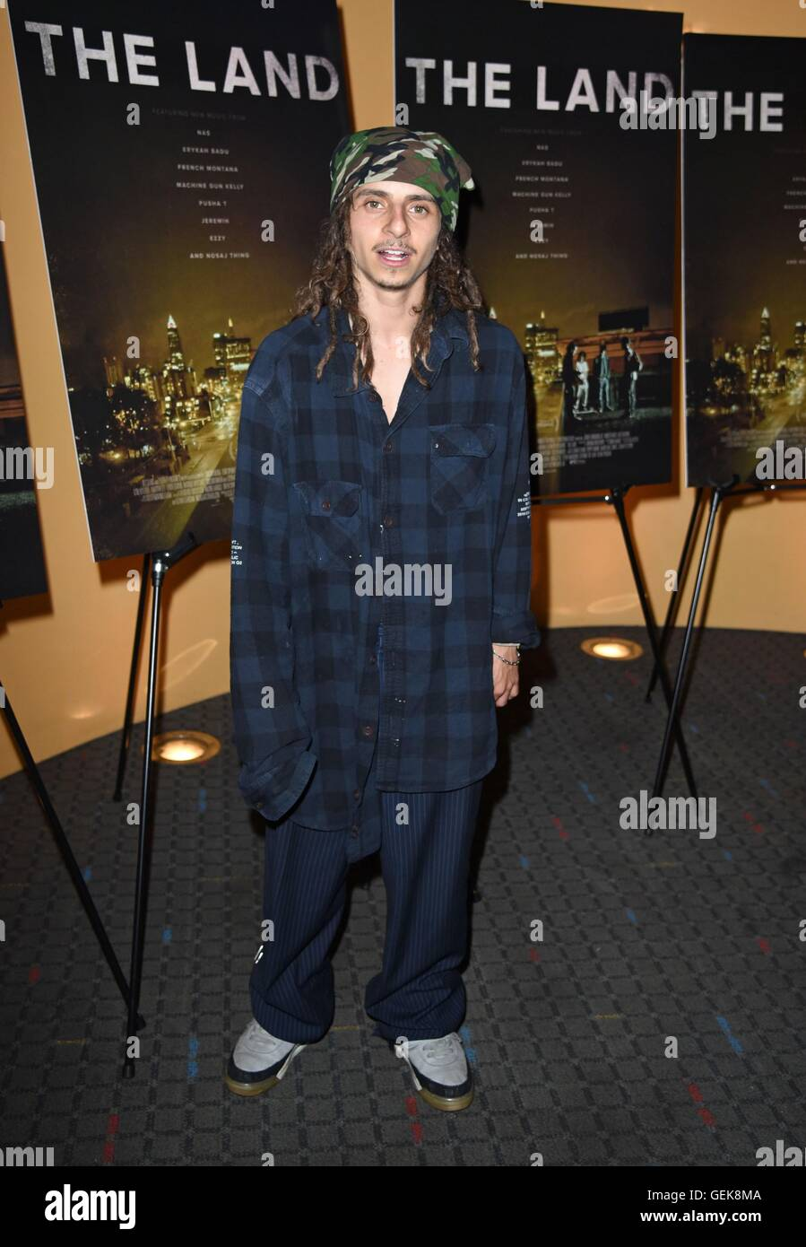 New York, NY, USA. 26th July, 2016. Moises Arias at ...