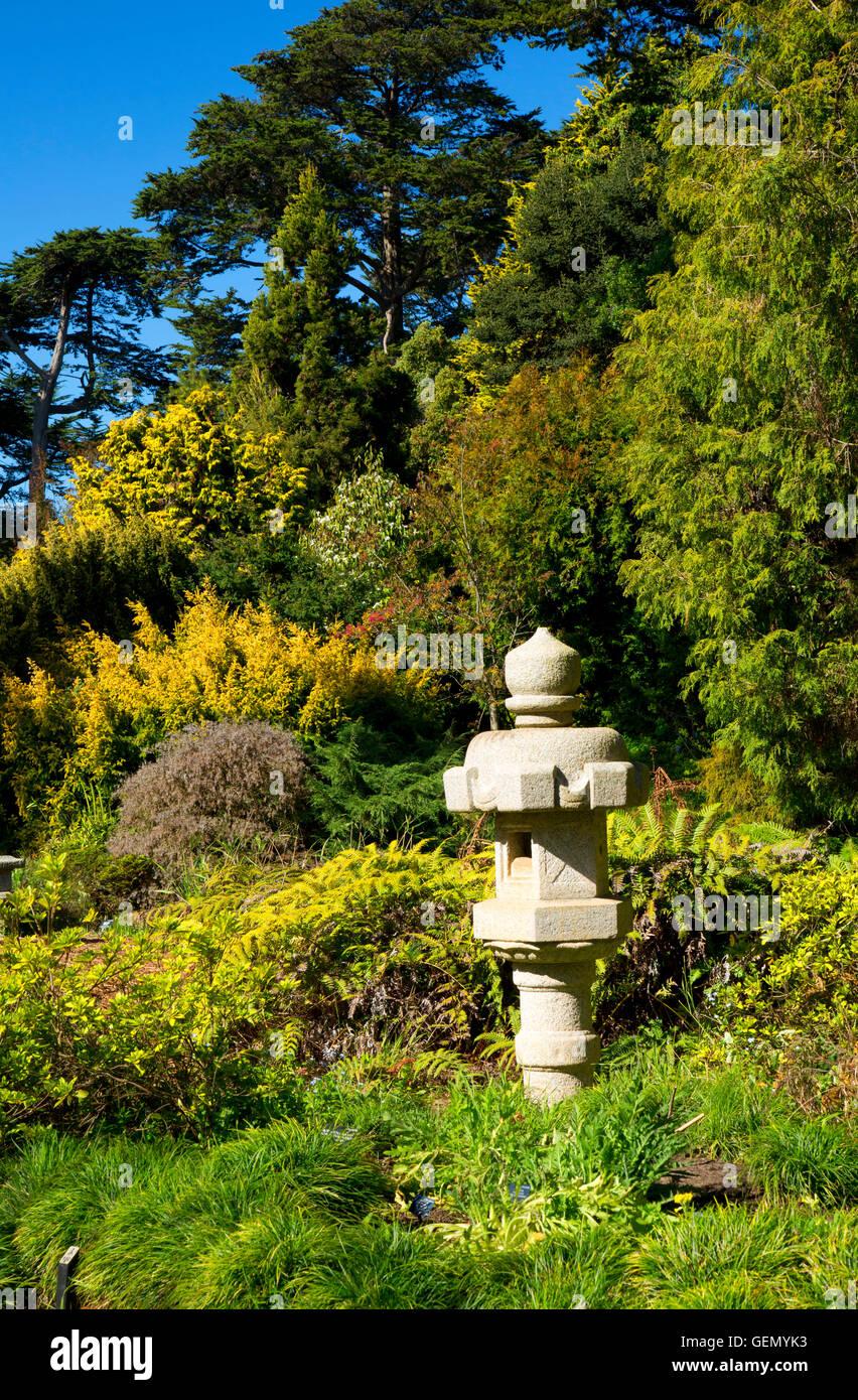 Japanese Lantern, San Francisco Botanical Garden, Golden Gate Park, San  Francisco, California