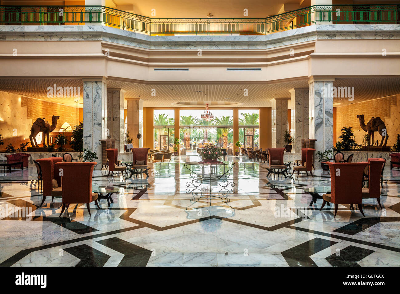 Bar and reception area of a five star resort hotel near for Nearest 5 star hotel