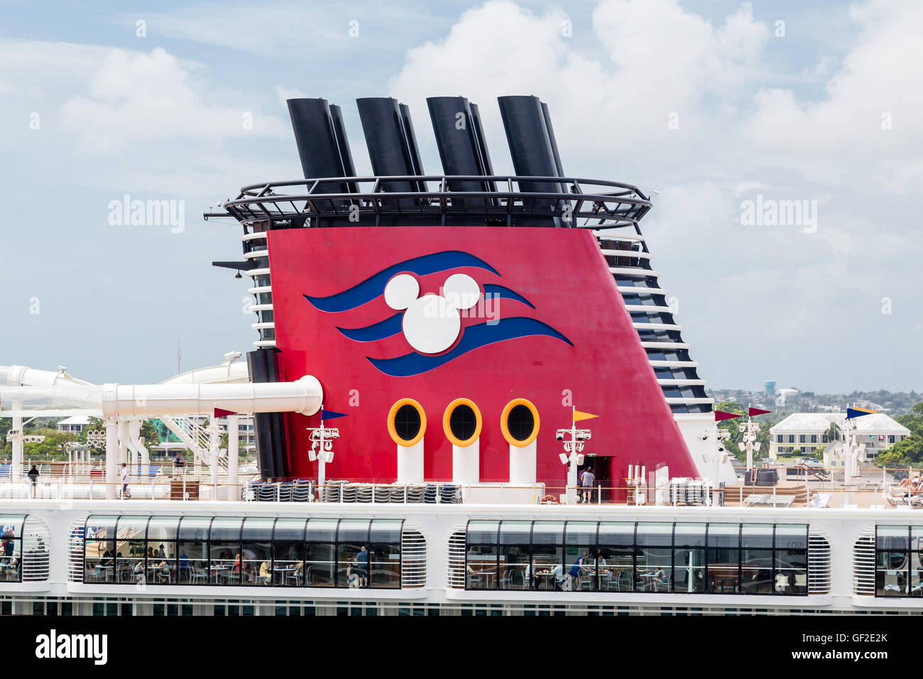 Disney Smoke Stack On Cruise Ship Stock Photo Royalty Free Image - Is there smoking on cruise ships