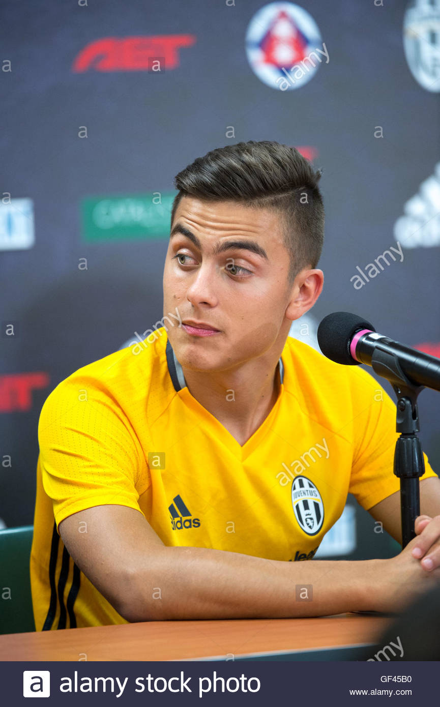 Hong Kong July 29th 2016 HONG KONG Juventus player Paulo