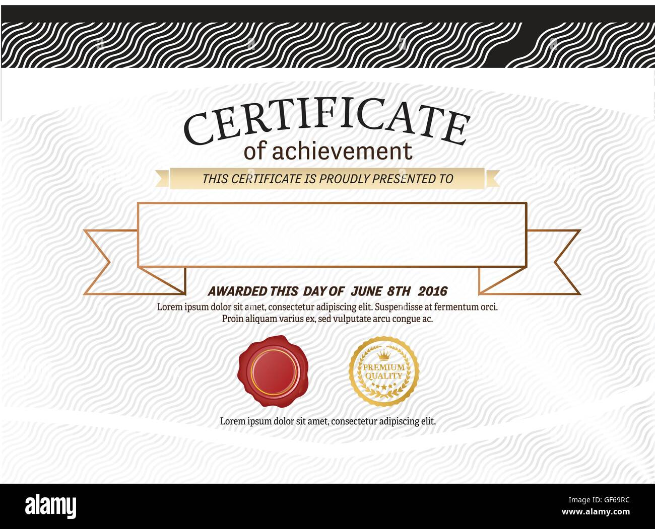 Certificate diploma template vector illustration design stock certificate diploma template vector illustration design xflitez Choice Image