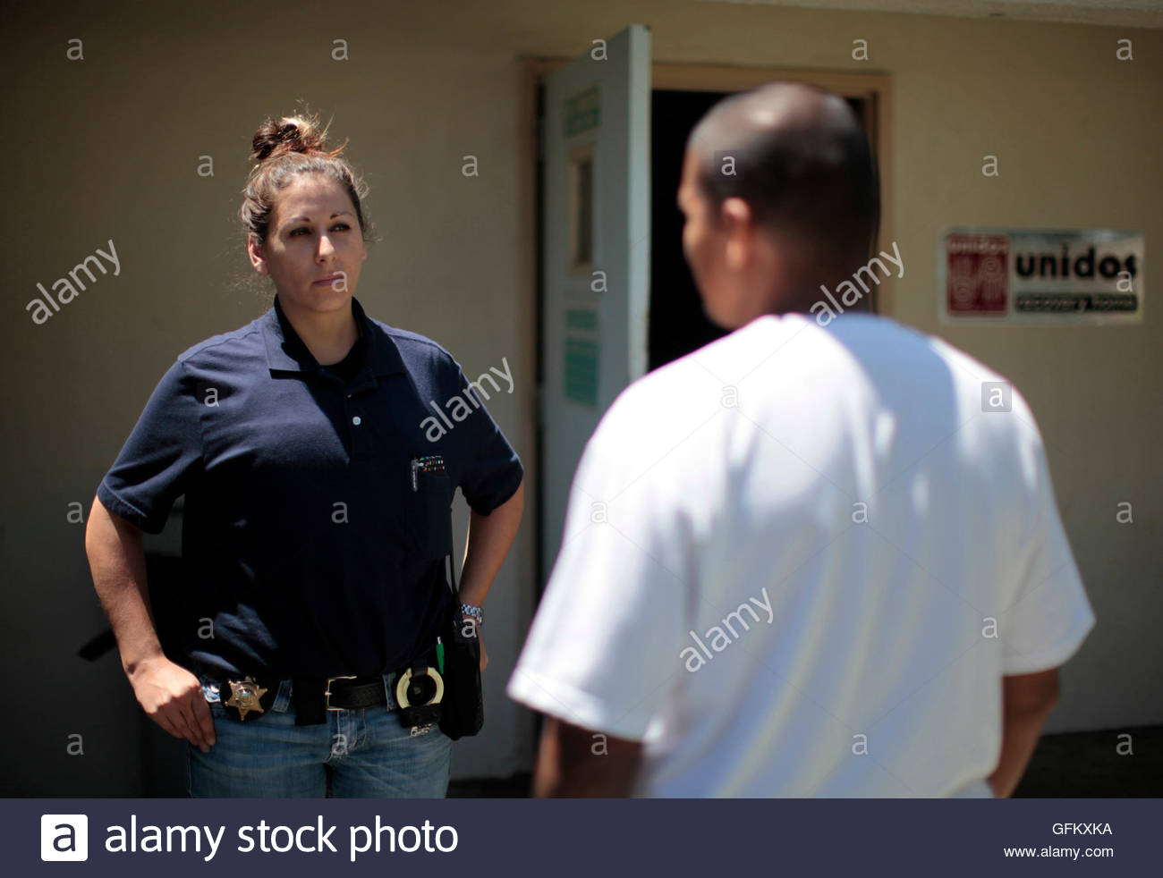 Orange County Deputy Probation Officer Erin Merritt Talks To A ...