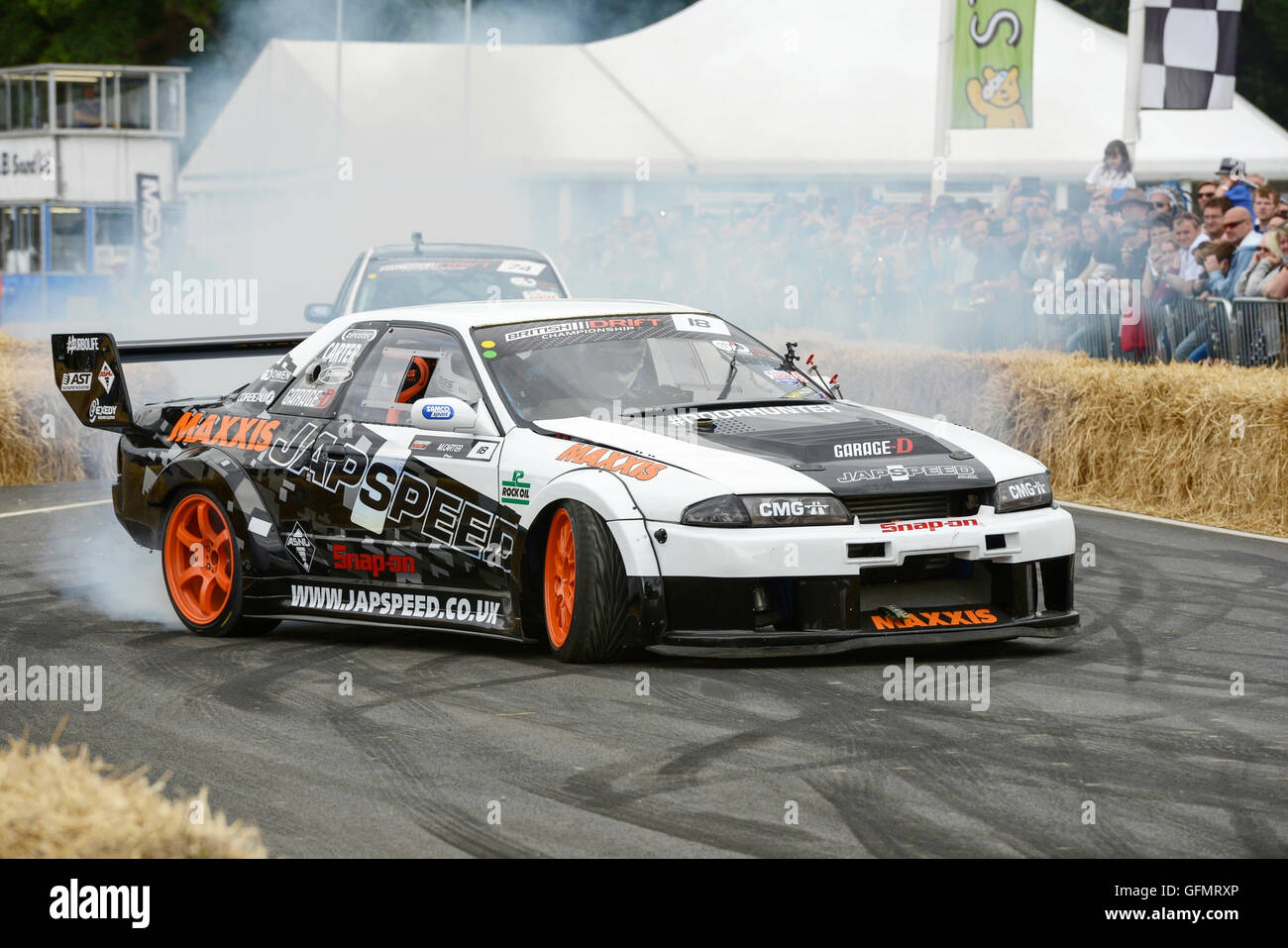 Carfest North Bolesworth Cheshire Uk July Two Drift