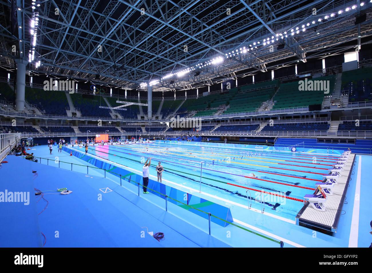 olympic aquatics stadium august 1 2016 the rio 2016 olympic games in rio de janeiro brazil yohei osadaaflo sportalamy live news