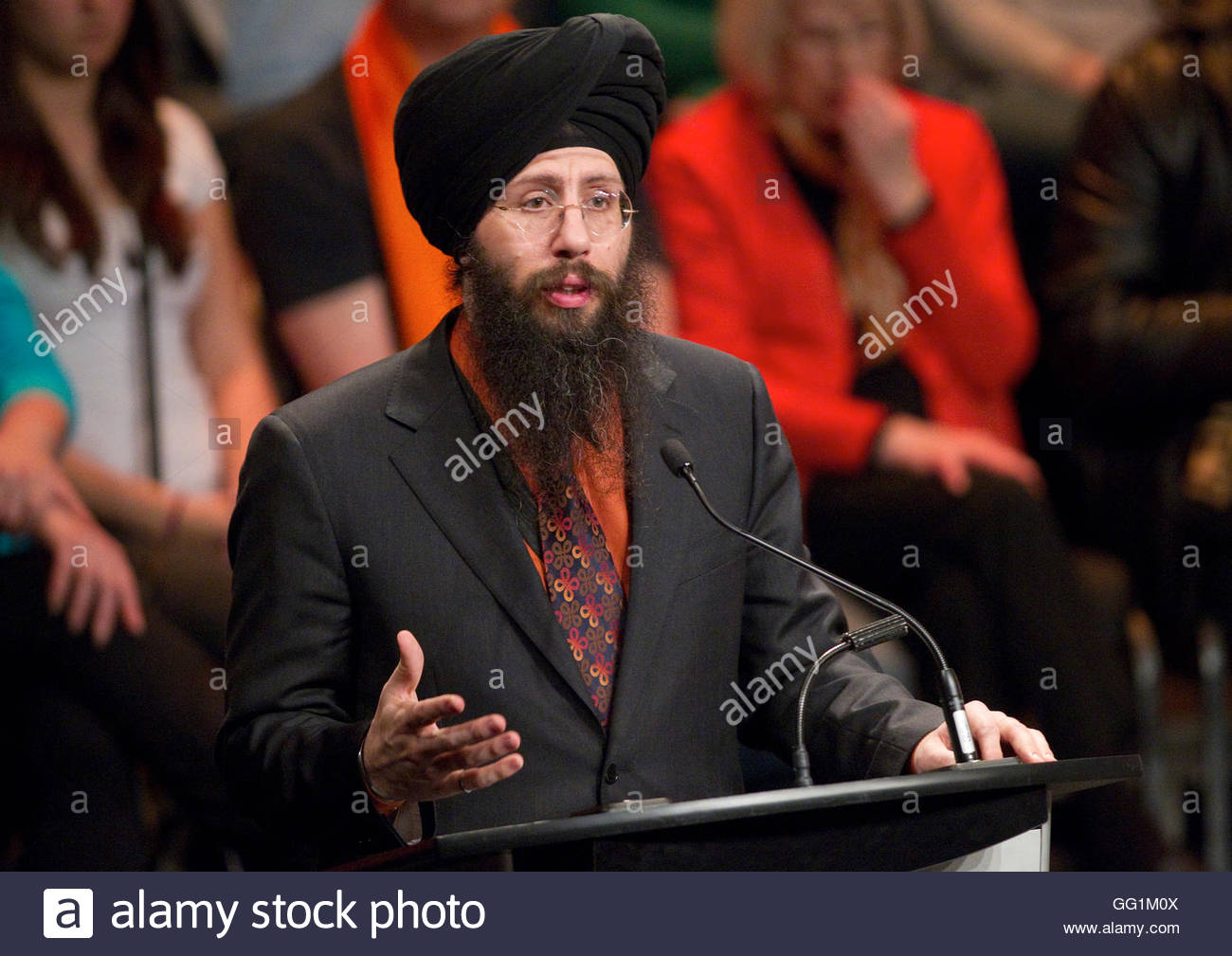 ndp leadership candidate martin singh answers a question during ndp leadership candidate martin singh answers a question during the ndp leadership debate in vancouver british columbia 11 2012